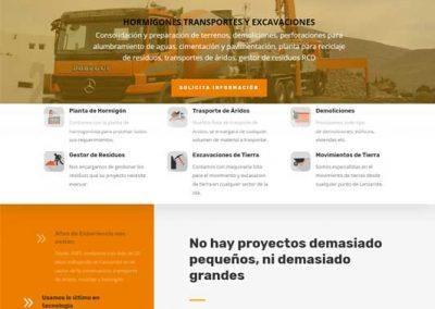 Web de Dobegui - Desarrollada por Proyecto Digital en Lanzarote