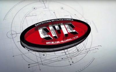 Logo Animado para Carpintería Metálica Correa