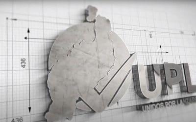 Logo Animado de Unidos Por Lanzarote
