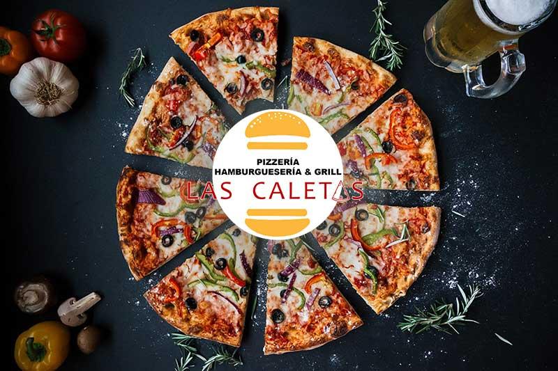 Diseño de Nueva Carta de Menú de Pizzería Las Caletas
