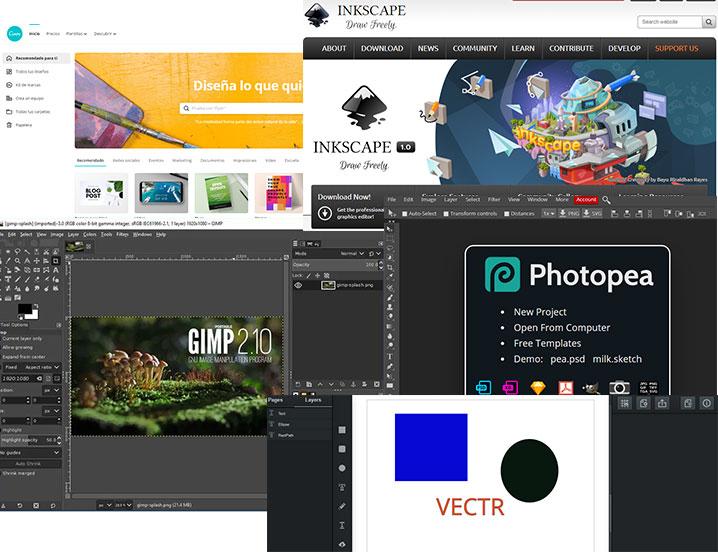 5 Herramientas Gratis para Diseño Gráfico y Web