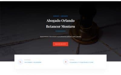 Proyecto Abogado Orlando Betancor